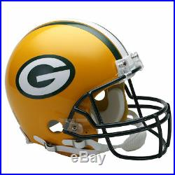 Green Bay Packers Riddell NFL Full Size Authentic Proline Football Helmet