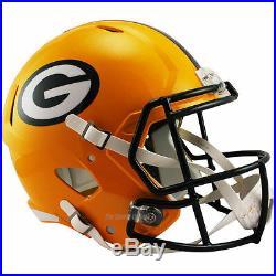 Green Bay Packers Riddell Speed NFL Full Size Replica Football Helmet