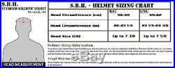 GunNook-SBH Standard Ballistic Helmet (S. B. H.) LVL IIIA HIGH CUT- Coyote Brown