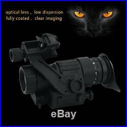 HD Infrared Night Vision IR Telescope Monocular LCD Display For Helmet Hunting