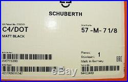 HELM Schuberth C4 ECE/DOT schwarz black matt Klapphelm Motorcycle Helmet DOT