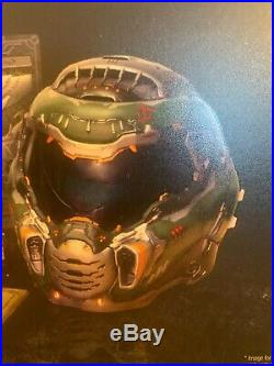 HELMET ONLY from DOOM ETERNAL Collectors Edition Bethesda NEW FREE SHIPPING