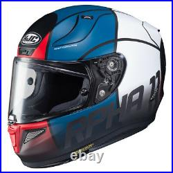 HJC RPHA 11 Quintain Full Face Sports Motorcycle helmet Red/White/Blue £100 OFF