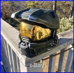 Halo Master Chief Wearable Helmet Small Adult/Child size Cosplay Armor Costume