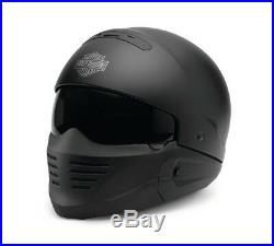 Harley Davidson Pilot II 2in1 Helmet Matt Black