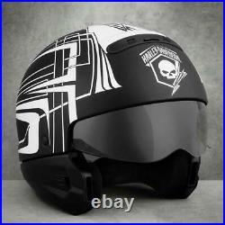 Harley Davidson Skull Lightning 2-in-1 X04 Modular Helmet 98297-19EX