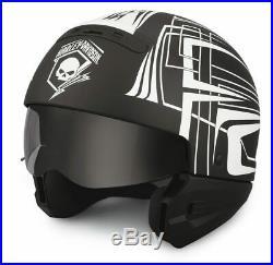 Harley-davidson Helmet Skull Lightning 2-in-1, 98297-19ex
