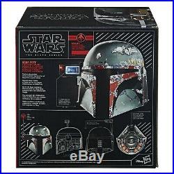 Hasbro STAR WARS The Black Series Boba Fett Electronic Helmet Neu OVP