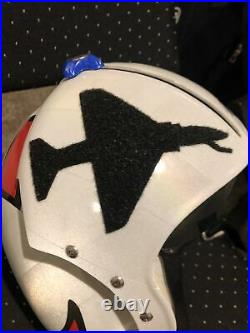 Hgu-33 Custom Topgun Us Navy A-4 Flight Pilot Helmet / Aviator Fighter Pilot