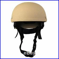 High Cut Ballistic Bullet Proof made with KEVLAR ACH MICH Military Helmet