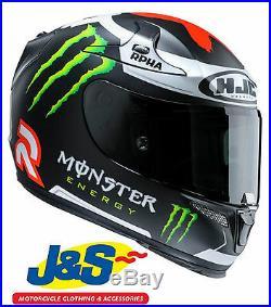 Hjc Rpha 10 Plus Matt Lorenzo Replica Monster Energy Motorcycle Helmet Moto Gp