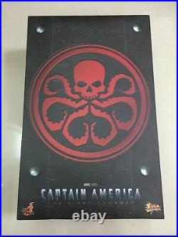 Hot Toys MMS 167 Captain America The Avenger Red Skull Johann Schmidt Hugo NEW