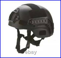Hunting Tactical UHMW PE HELMET BALLISTIC IIIA BULLETPROOF MICH HELMET SIZE M