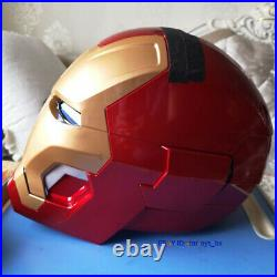 IN STOCK CATTOYS 11 Iron Man MK42 with LED Helmet Replica Red Collection