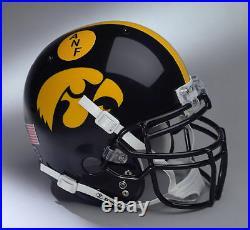 IOWA HAWKEYES NCAA Schutt XP Full Size AUTHENTIC Gameday Football Helmet