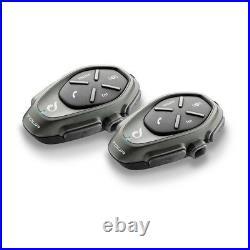Interphone Tour Motorcycle Helmet Bluetooth Universal Intercom System Twin