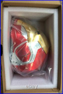 Iron Man Helmet mk85 Touch Opening Closing LED Light Mask ABS Gift Cosplay Prop