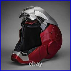 Iron Man MK5 Helmet 1/1 Scale Electric Voice Touch Control Wearable Props New