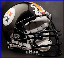 JACK LAMBERT Edition PITTSBURGH STEELERS Riddell REPLICA Football Helmet NFL
