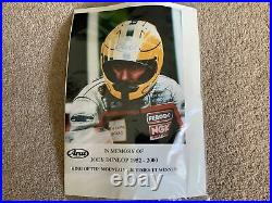 Joey Dunlop Arai Quantum/f Motorcycle Helmet Ltd Ed. BNWT Unworn