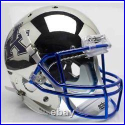 KENTUCKY WILDCATS Schutt AiR XP Full-Size REPLICA Football Helmet (CHROME)