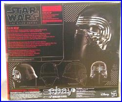 KYLO REN Helmet, Star Wars Black Series, Voice Changer. In Box Sealed Brand New