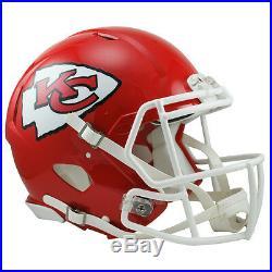 Kansas City Chiefs Riddell NFL Full Size Authentic Speed Football Helmet