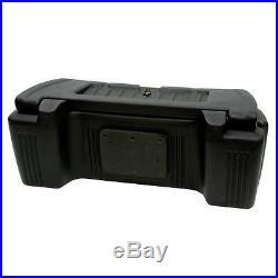 Kolpin Outfitter ATV Storage Trunk Luggage Helmet Cargo Rear Box Fuel