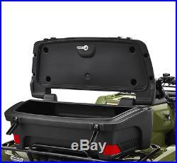 Kolpin Rear ATV Trail Box Rack Storage Trunk Helmets Gear Lockable Weatherproof