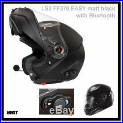 LS2 FF370 EASY Klapphelm Motorradhelm mit integriertem Bluetooth System XS