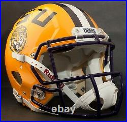 LSU TIGERS NCAA Riddell SPEED Full Size Authentic Football Helmet