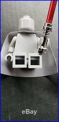 Lego Star Wars Darth Vader Grey Helmet Type 1 Prototype. RARE 1 of 5