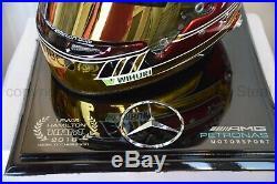 Lewis Hamilton 2018 Abu Dhabi Gp F1 Replica Helmet Full Size