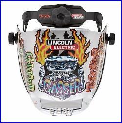 Lincoln Electric Viking 3350 Hot Rodders Auto-Darkening Welding Helmet K4440-3