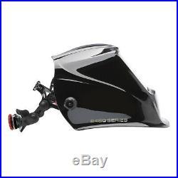 Lincoln Viking 2450 Black Auto Darkening Welding Helmet with4C Lens (K3028-4)