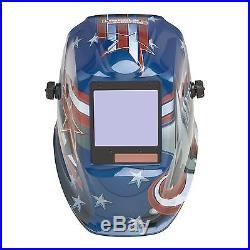 Lincoln Viking 3350 All American Auto Darkening Welding Helmet (K3175-3)