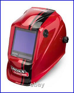 Lincoln Viking 3350 Code Red Auto-Darkening Welding Helmet K4034-4