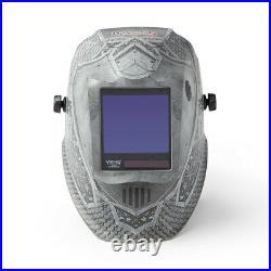 Lincoln Viking 3350 Medieval Auto Darkening Welding Helmet 4C Lens (K4671-4)