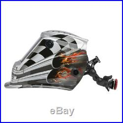 Lincoln Viking 3350 Motorhead Auto Darkening Welding Helmet with4C Lens (K3100-4)