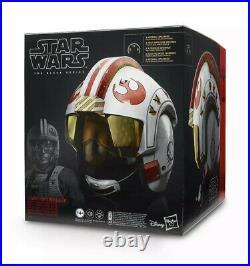 Luke Skywalker XWing Battle Simulation Helmet NIB Star Wars The Black Series