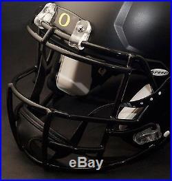 MARCUS MARIOTA 808 OREGON DUCKS Riddell SPEED Football Helmet FACEMASK (BLACK)