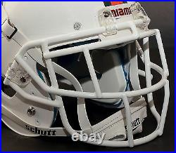 MIAMI HURRICANES NCAA Schutt XP Full Size GAMEDAY Replica Football Helmet