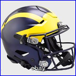 MICHIGAN WOLVERINES NCAA Riddell SpeedFlex Full Size Authentic Football Helmet
