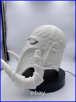 Mandalorian Cosplay Helmet RAW Star Wars Cosplay, Helmet Mandalorian Cosplay 3d
