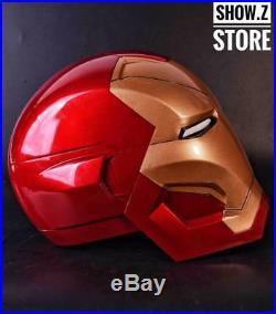 Manual Version CATTOYS 11 Iron Man MK46 LED Helmet Replica WITH LED MK 46
