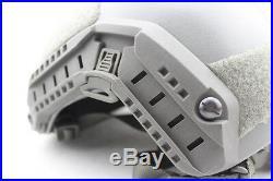 Maritime Ballistic IIIA Bullet Proof Helmet OPS Aramid Fiber M / L FG Color