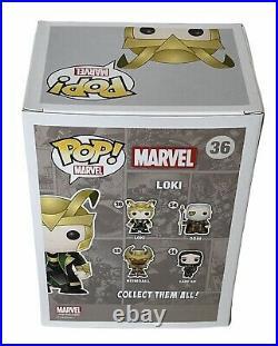Marvel Glow In The Dark Frost Exclusive Loki Funko Pop Vinyl Thor The Avengers