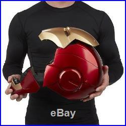 Marvel Legends Iron Man Electronic Helmet Cosplay Costume Accessories Pretend US