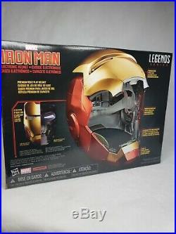 Marvel Legends Iron Man Electronic Helmet Replica Avengers Endgame Hasbro New