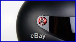 Matrix Alpha Black Streetfighter Motorcycle helmet Simpson Bandit Style